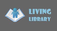 Живая библиотека в Донецке логотип